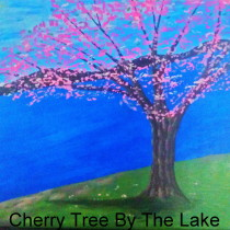 Cherry Tree by the Lake