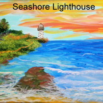 Sea Shore Lighthouse