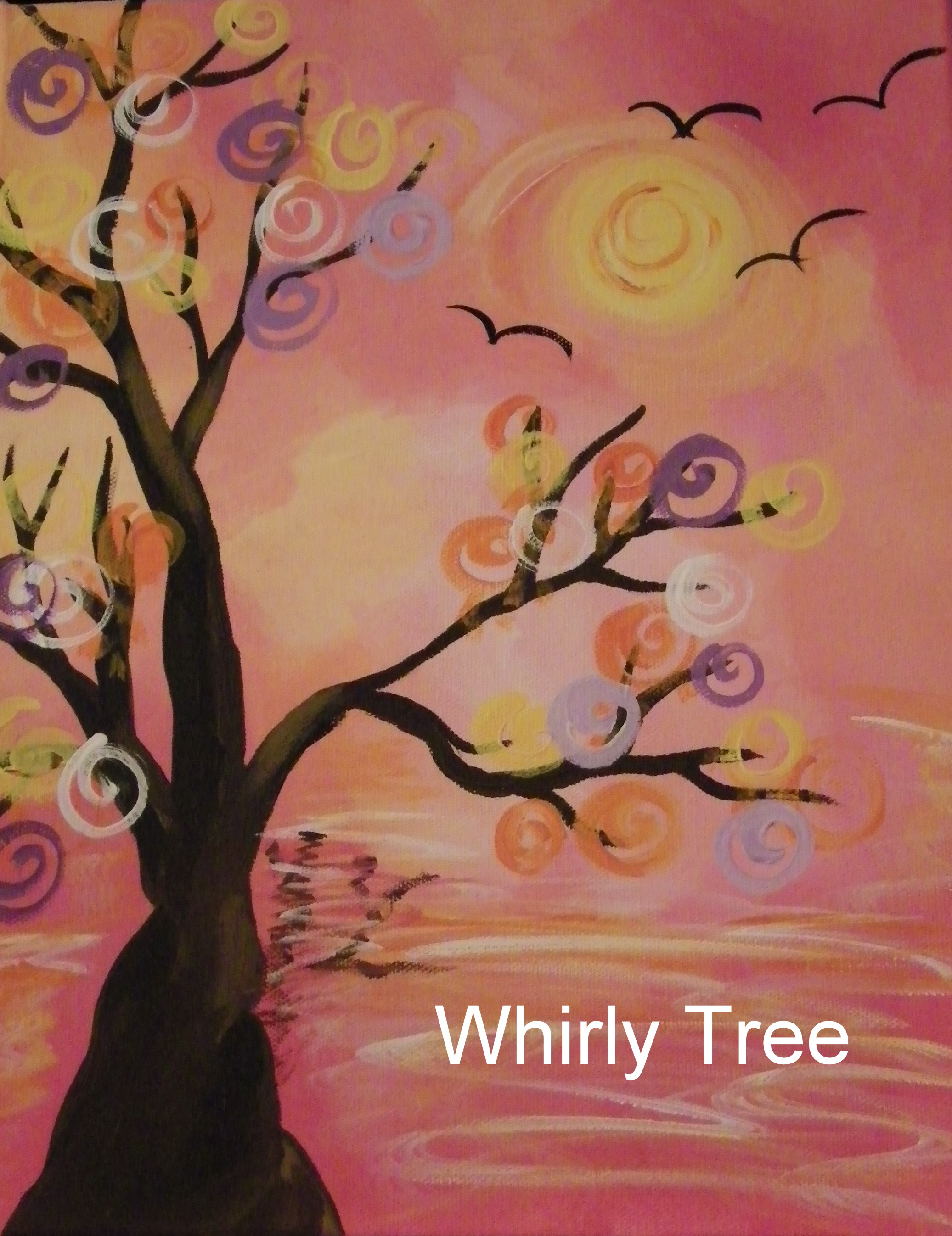 4PM Whirly Tree